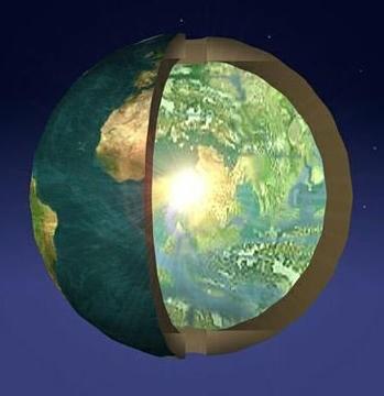 Кто живет внутри Земли?